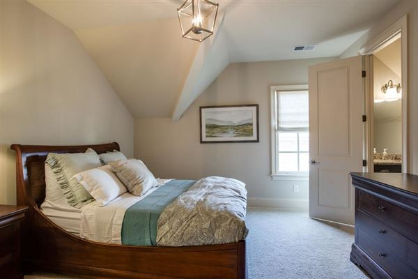 a Custom single level home in college grove luxury homes