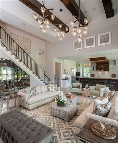 Luxury real estate new boutique home