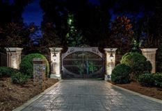 the gated waterfront estate of Kelly Clarkson luxury homes