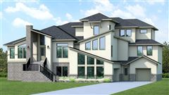 Luxury homes new construction in gated community