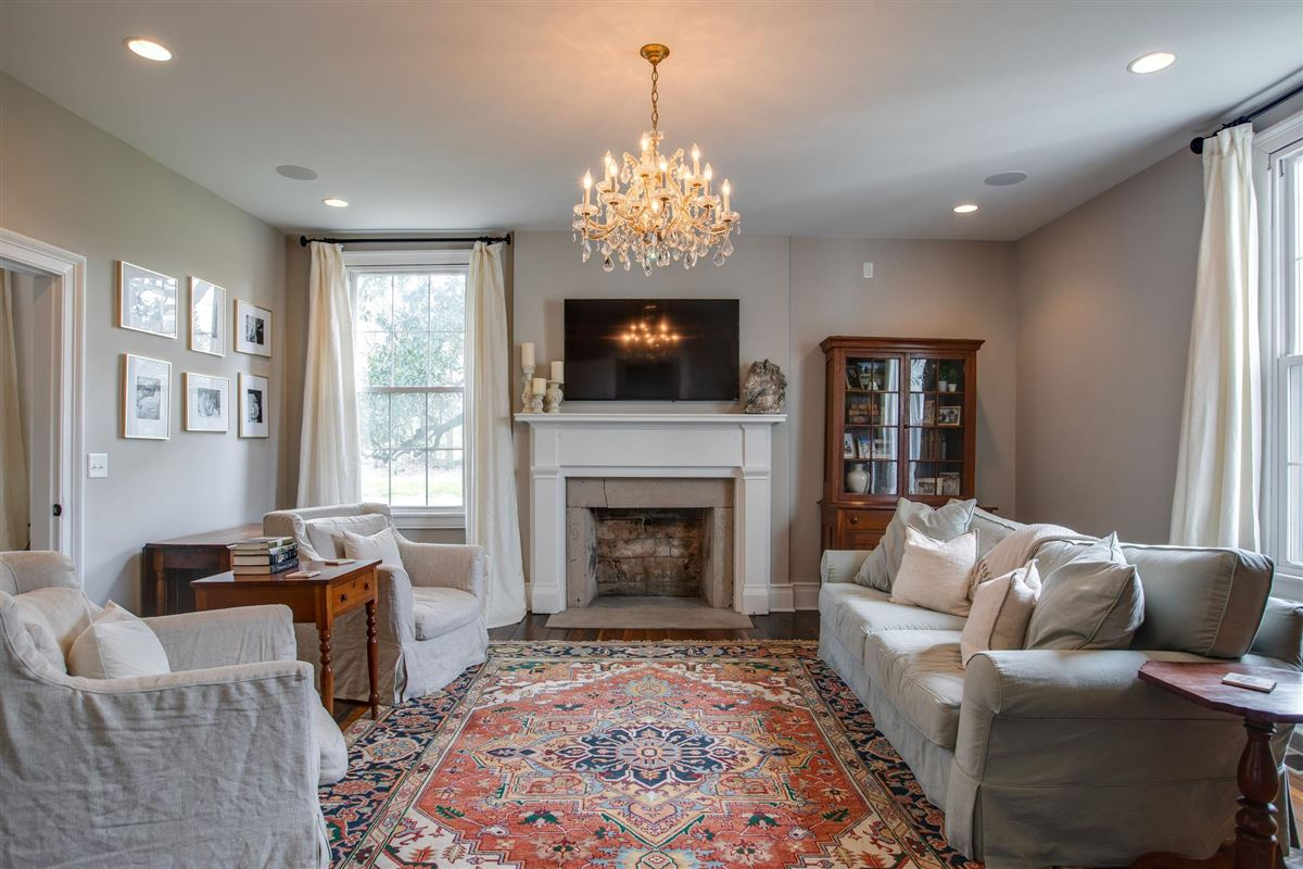 Historic Franklin Home with Extraordinary Renovations  luxury homes