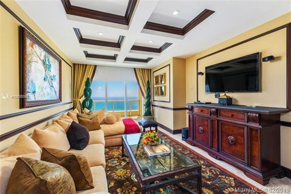 Luxury homes in Luxurious penthouse in exclusive Acqualina Residence and Resort