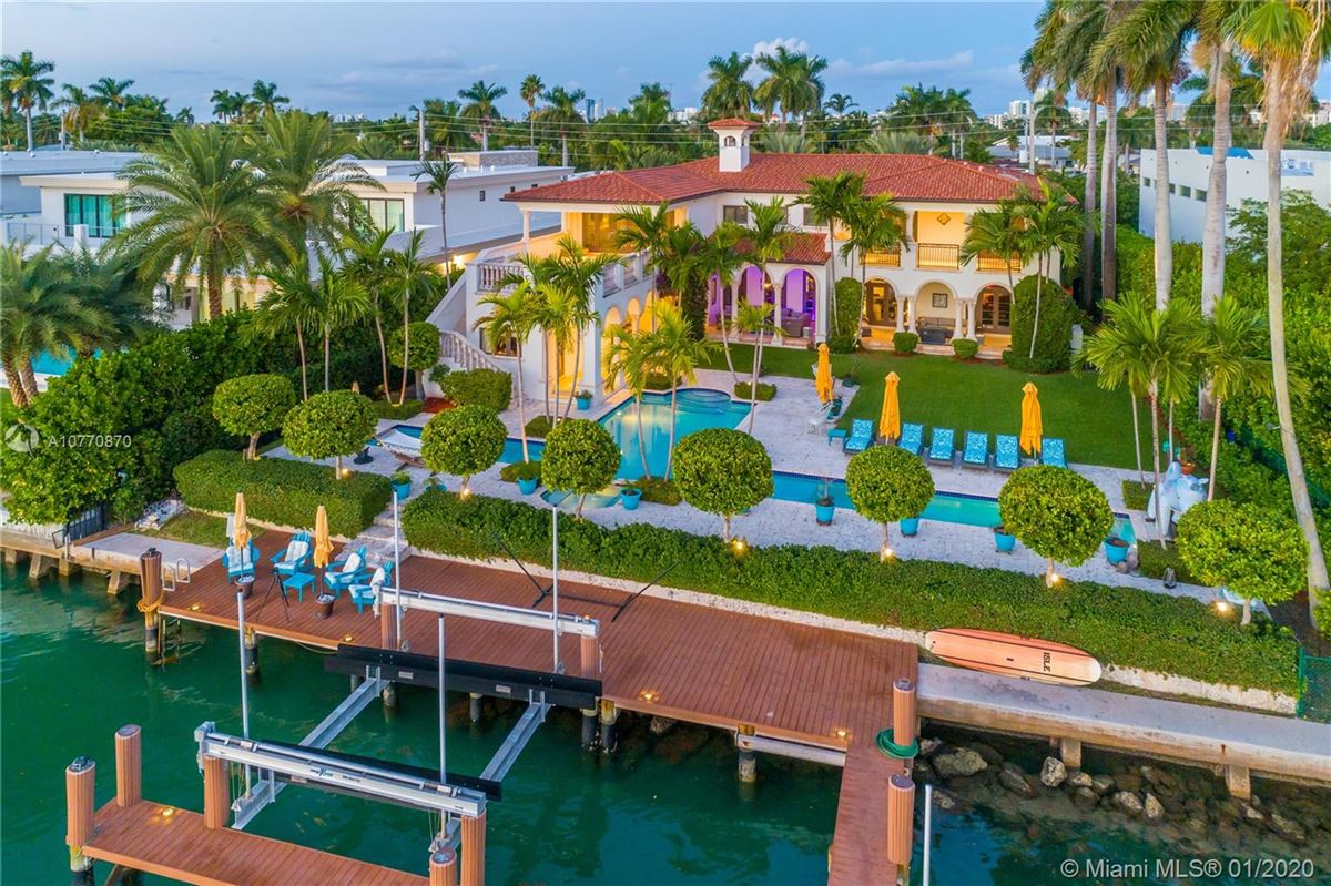Luxury homes special Mediterranean Estate in coveted Bay Harbor Islands