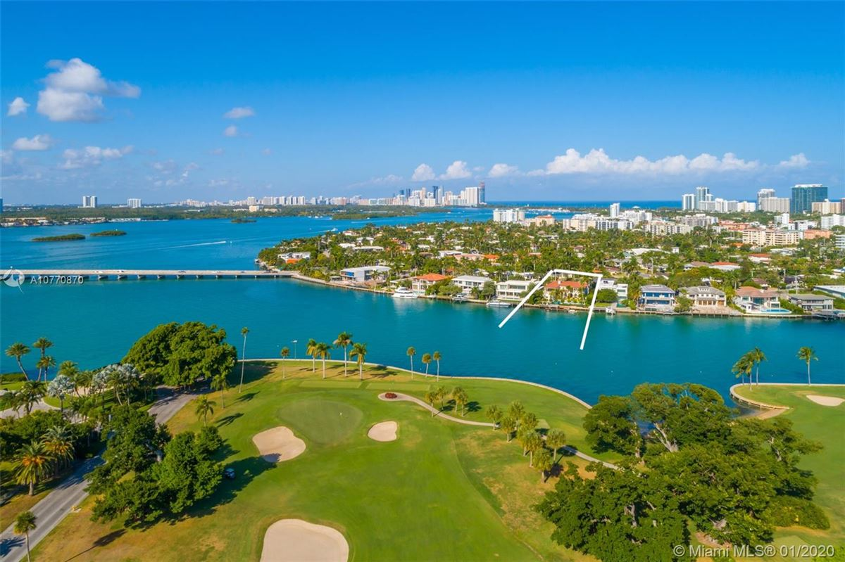 special Mediterranean Estate in coveted Bay Harbor Islands mansions
