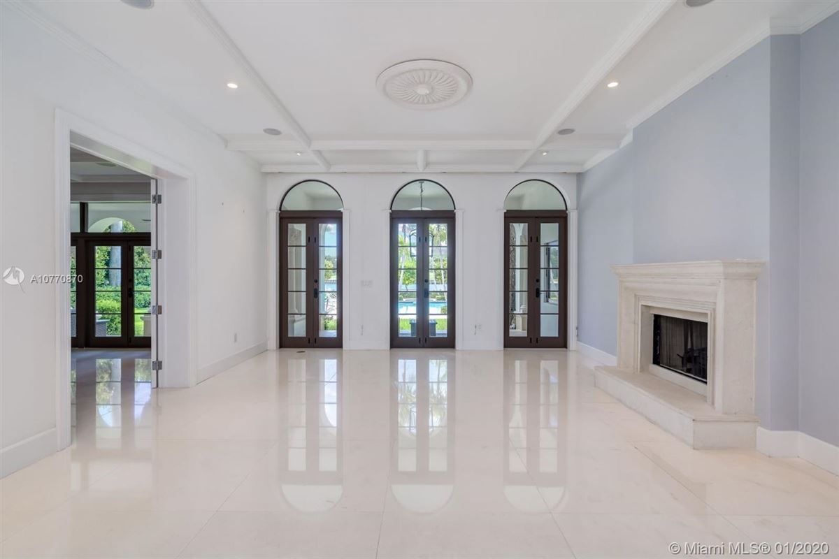 Luxury real estate special Mediterranean Estate in coveted Bay Harbor Islands