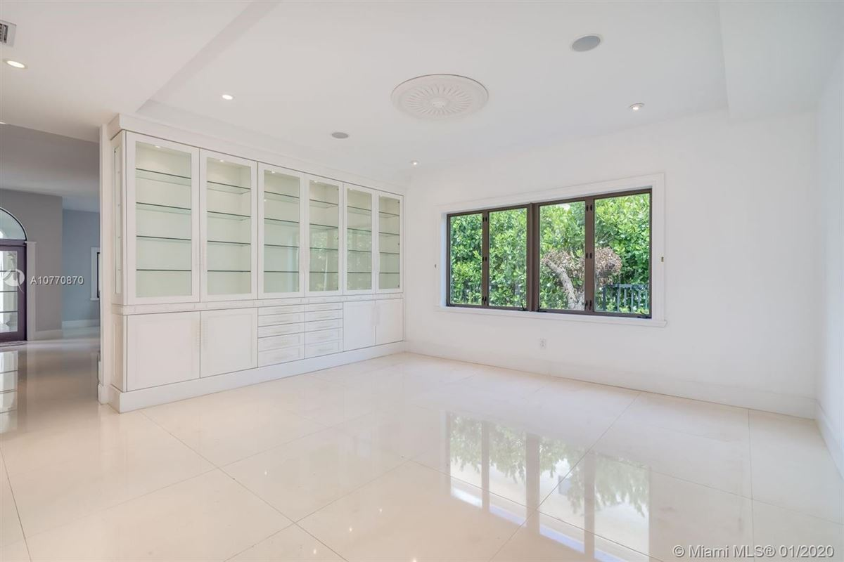 Luxury properties special Mediterranean Estate in coveted Bay Harbor Islands
