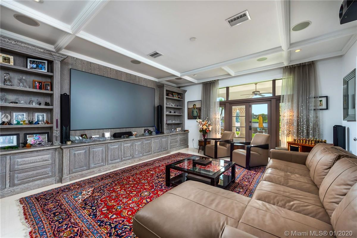 special Mediterranean Estate in coveted Bay Harbor Islands luxury properties