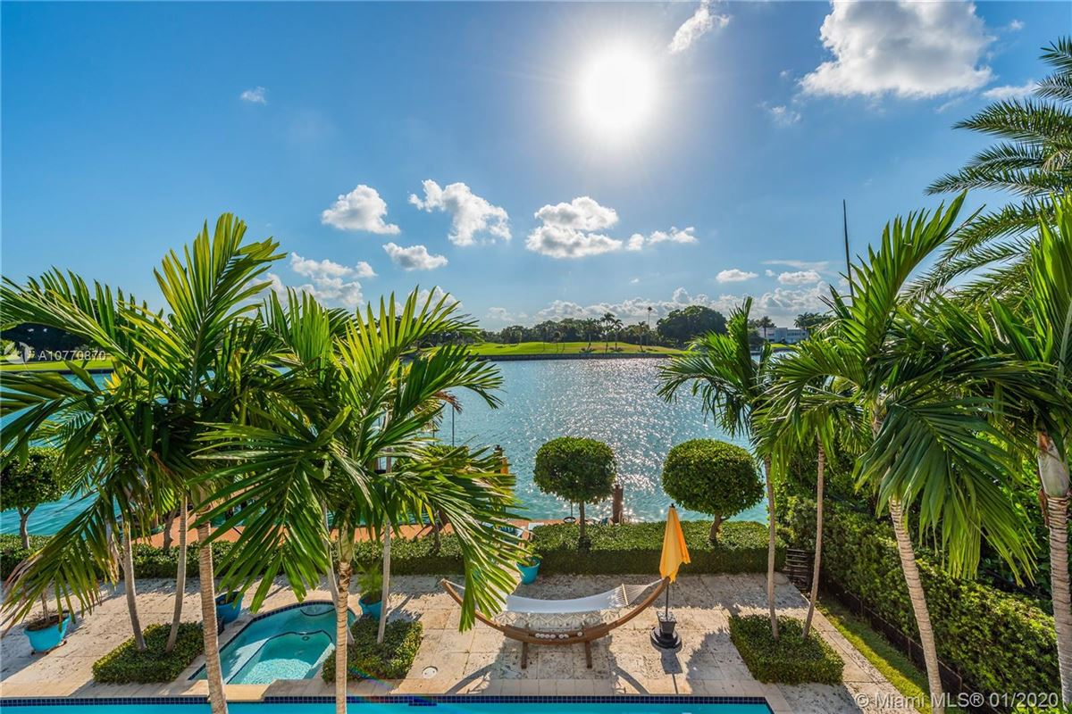 Mansions special Mediterranean Estate in coveted Bay Harbor Islands