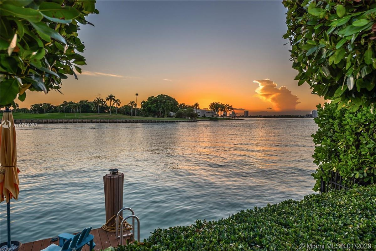 Luxury homes in special Mediterranean Estate in coveted Bay Harbor Islands
