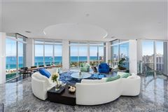 Luxury homes  mansion in the sky two-story penthouse in Florida