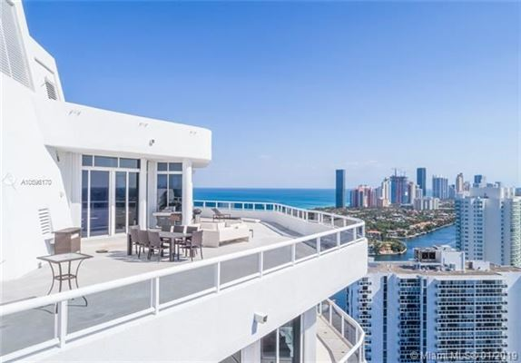 mansion in the sky two-story penthouse in Florida luxury properties