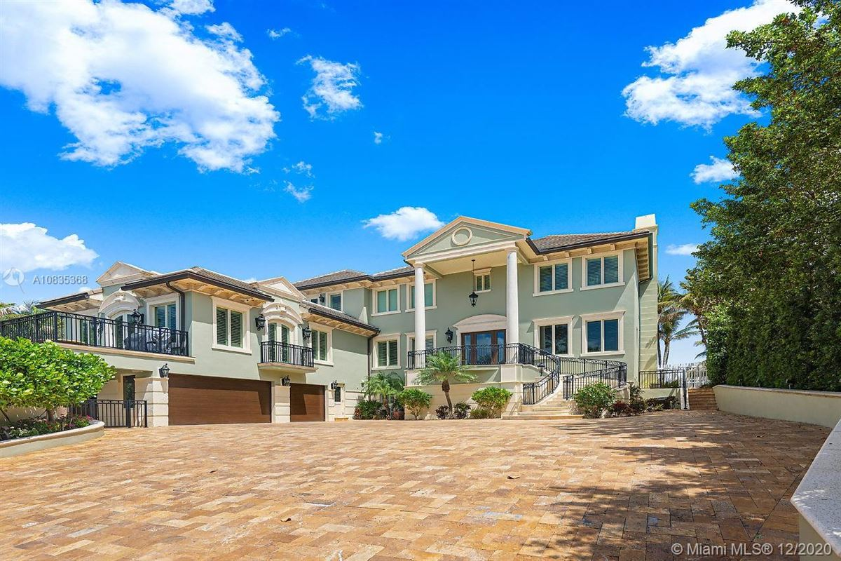 Luxury homes Oceanfront gated estate on Hillsboro Mile
