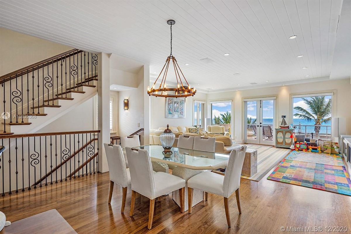 Oceanfront gated estate on Hillsboro Mile luxury real estate
