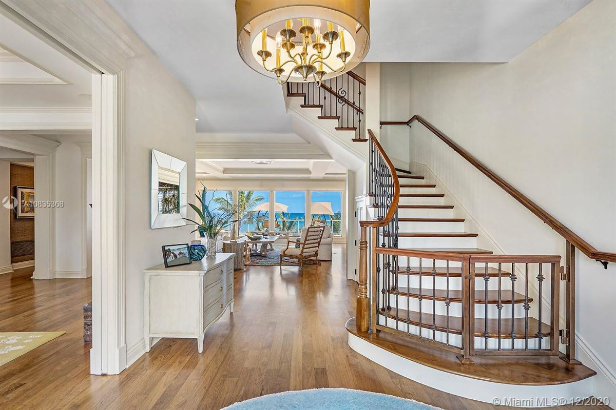 Luxury properties Oceanfront gated estate on Hillsboro Mile