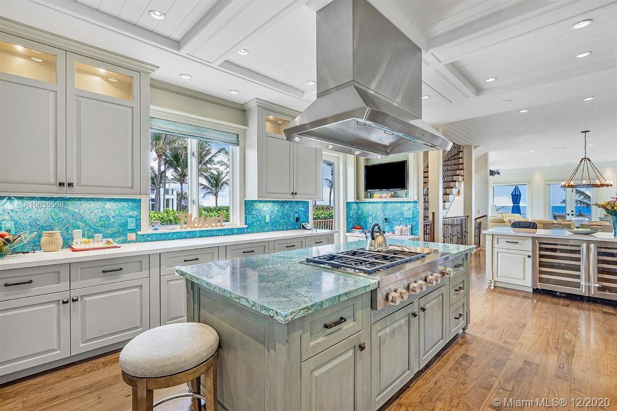 Oceanfront gated estate on Hillsboro Mile mansions