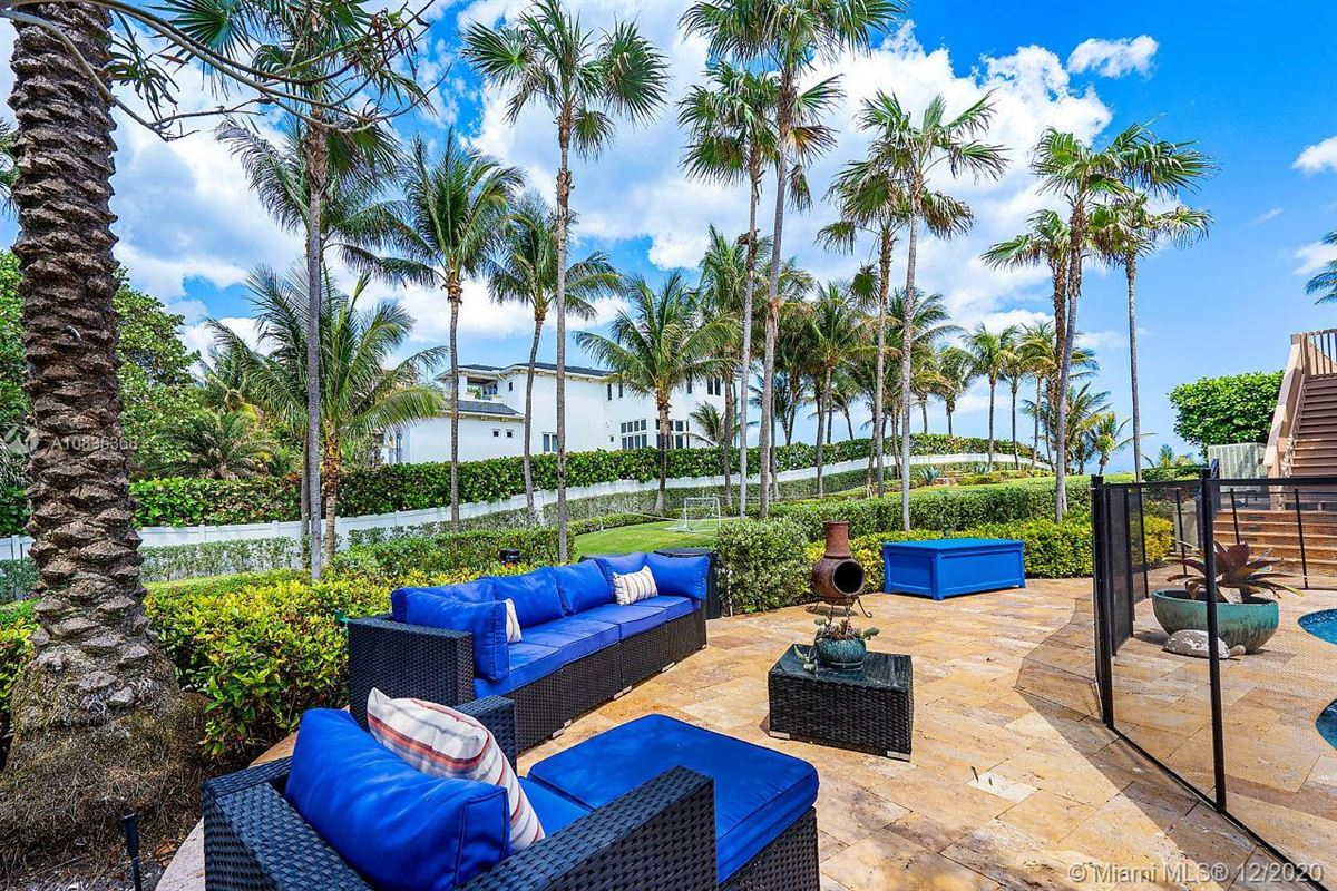 Oceanfront gated estate on Hillsboro Mile luxury homes