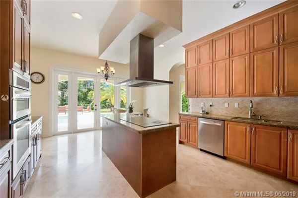 Luxury properties beautiful Palmetto Bay two-story house