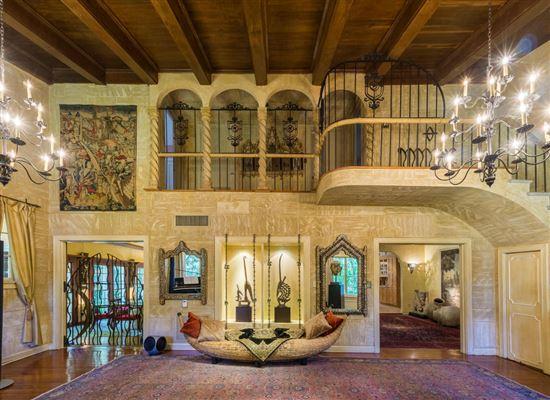 Grand 1920s Mediterranean Style Palm Beach Home Florida