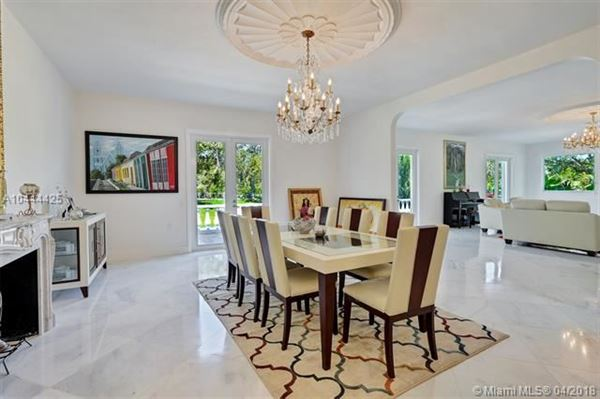 remarkable gated estate in Pinecrest luxury real estate