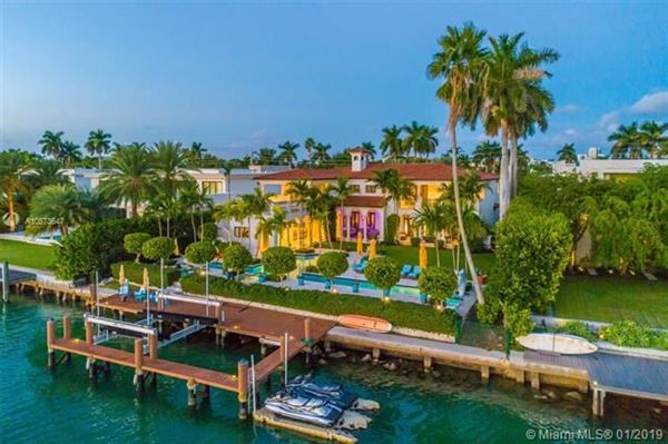 Luxury properties Bay Harbor Island Estate