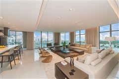 Luxury homes in upgraded corner penthouse with panoramic views