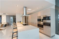 Luxury real estate upgraded corner penthouse with panoramic views