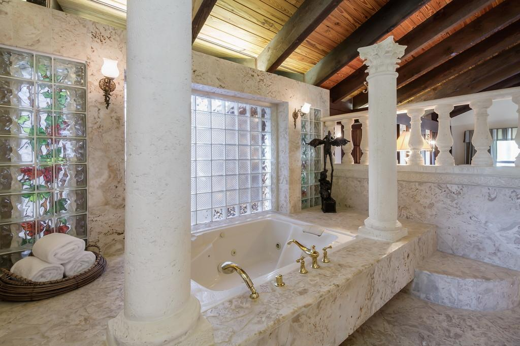 Mansions in Waterfront Mediterranean Estate