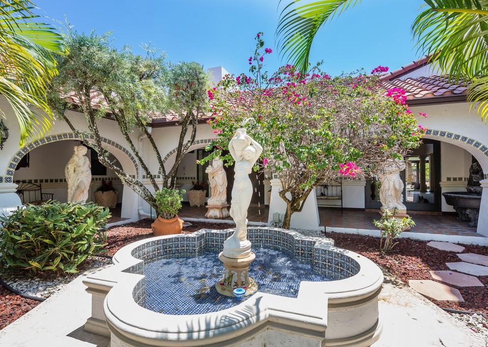Waterfront Mediterranean Estate luxury homes