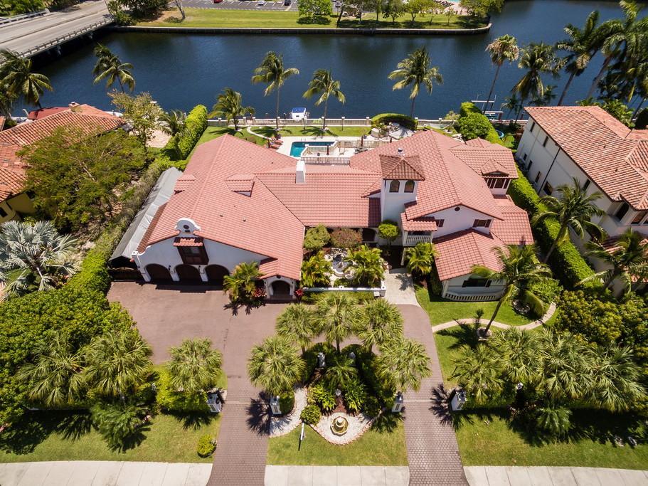 Luxury real estate Waterfront Mediterranean Estate
