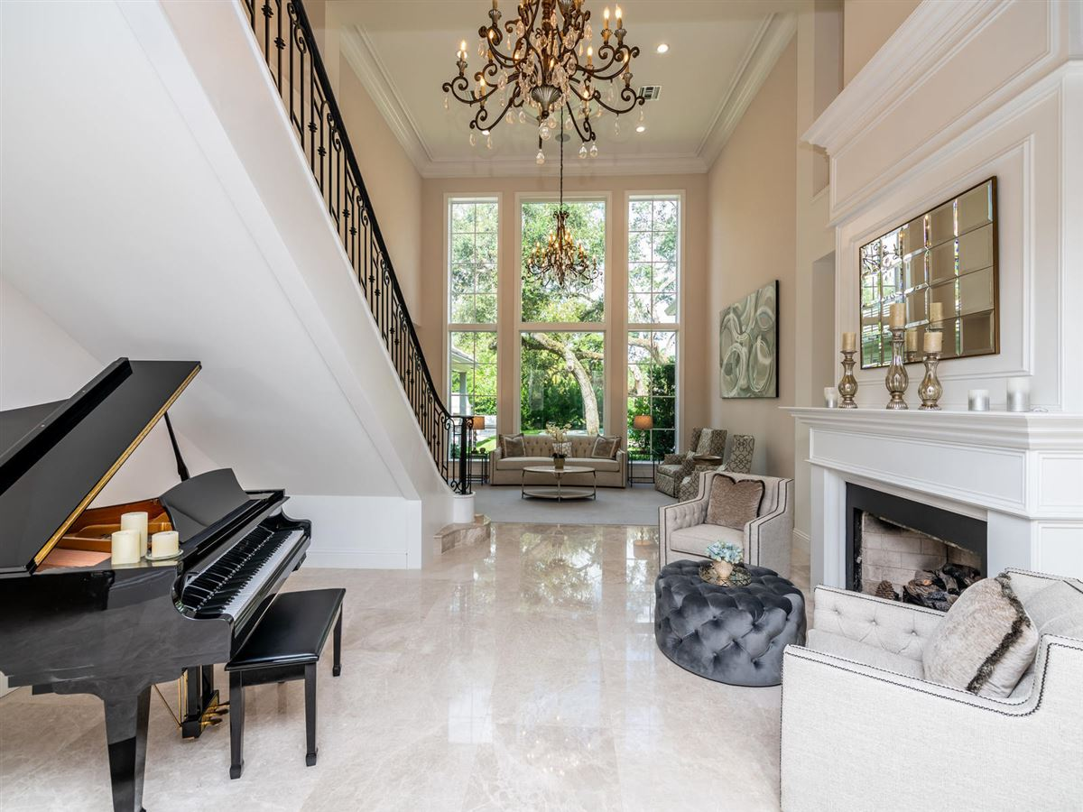 stunning custom luxury estate home in Foxe Chase luxury real estate