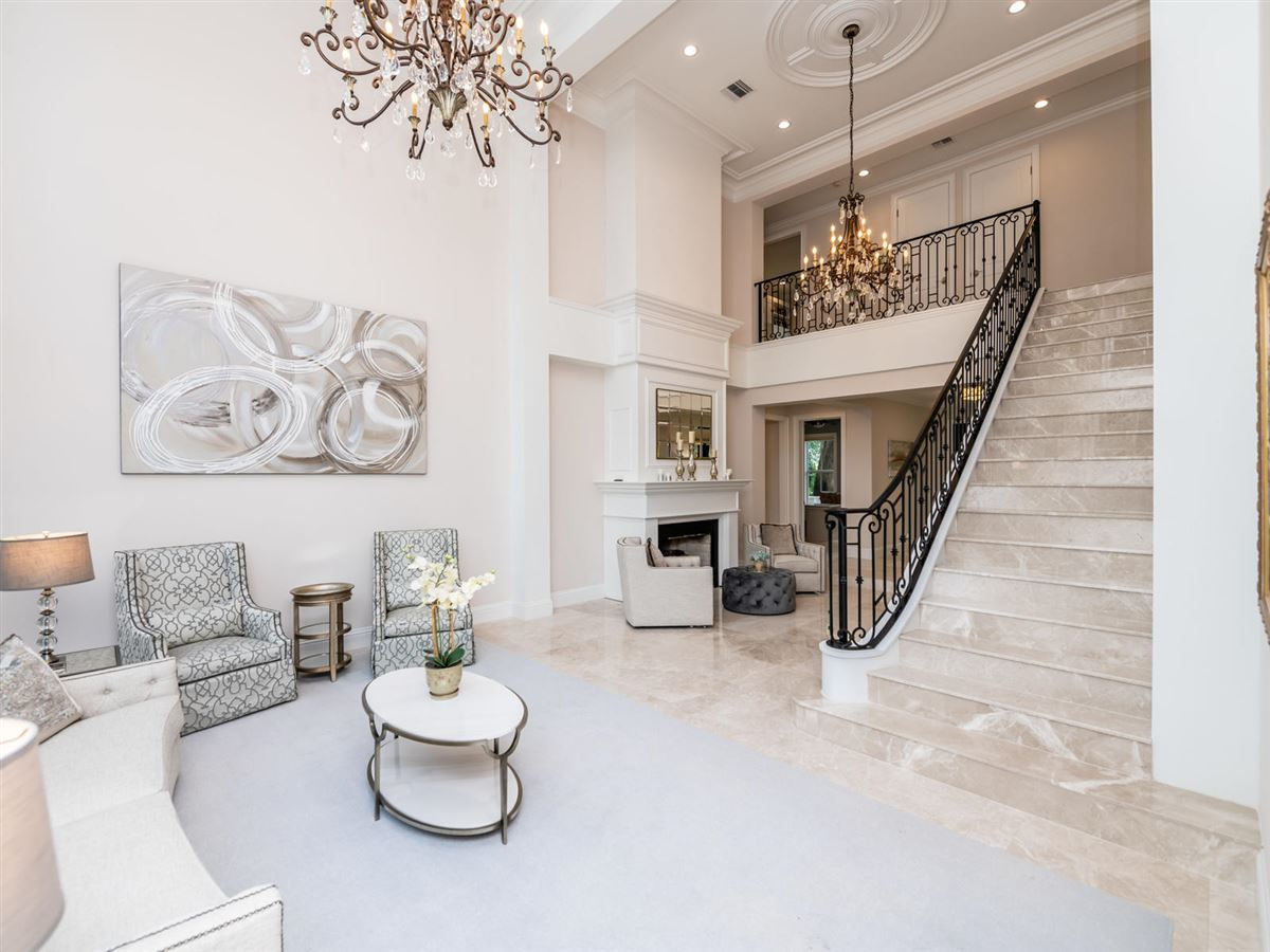 Mansions in stunning custom luxury estate home in Foxe Chase