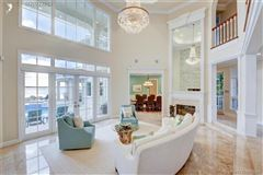 Spectacular island gem in small gated community mansions