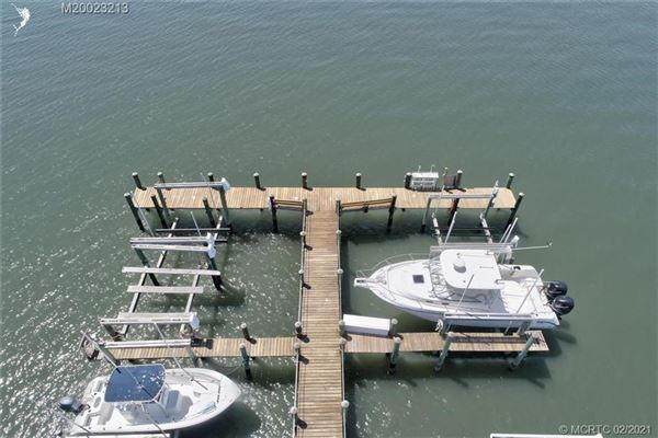 Luxury real estate Spectacular island gem in small gated community