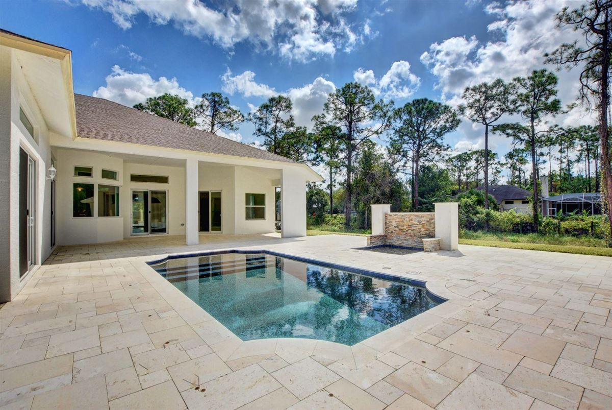 Fabulous brand new estate pool home with guest home luxury homes