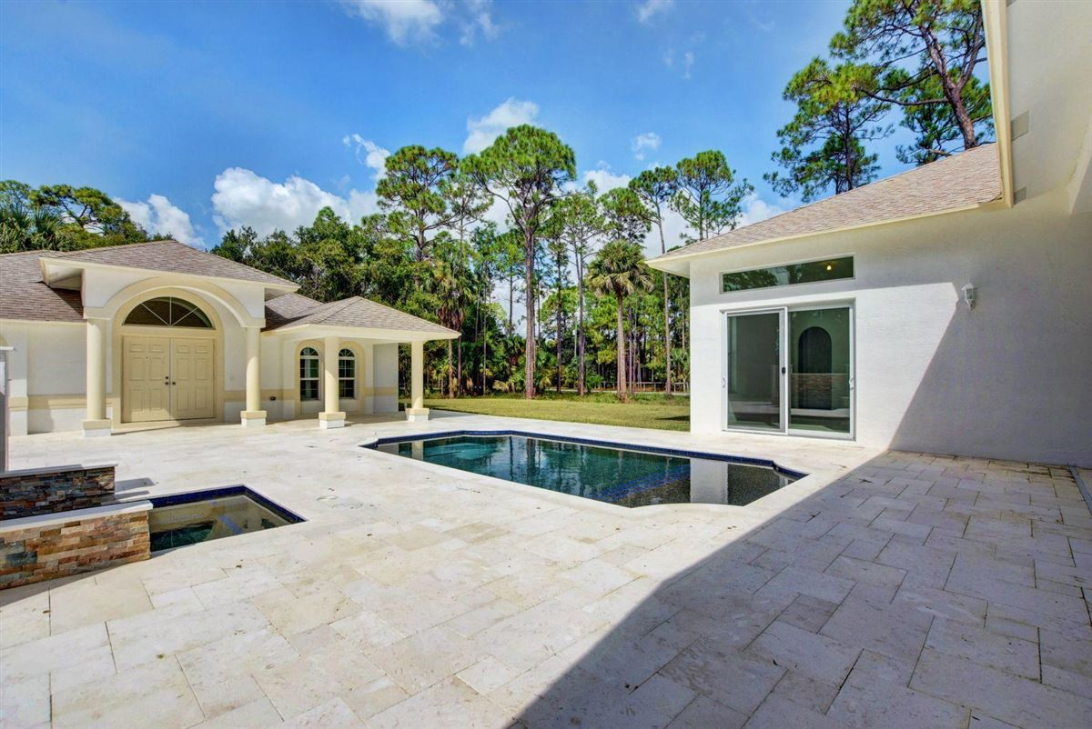 Fabulous brand new estate pool home with guest home luxury real estate