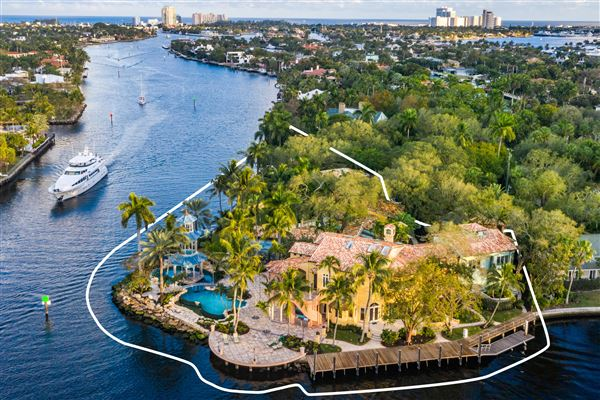 Iconic Waterfront Estate. US $19,900,000 In Fort Lauderdale ...