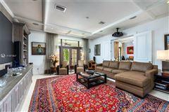 Luxury homes Stunning Mediterranean Waterfront Estate in Bay Harbor Islands