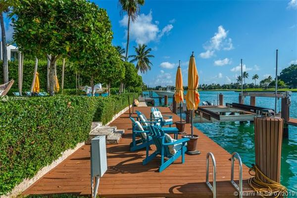 Stunning Mediterranean Waterfront Estate in Bay Harbor Islands luxury real estate