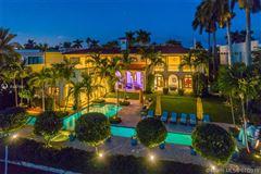 Stunning Mediterranean Waterfront Estate in Bay Harbor Islands luxury properties