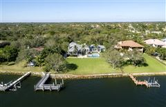 Luxury homes impeccably designed waterfront estate home