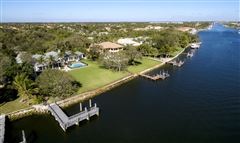 Mansions impeccably designed waterfront estate home