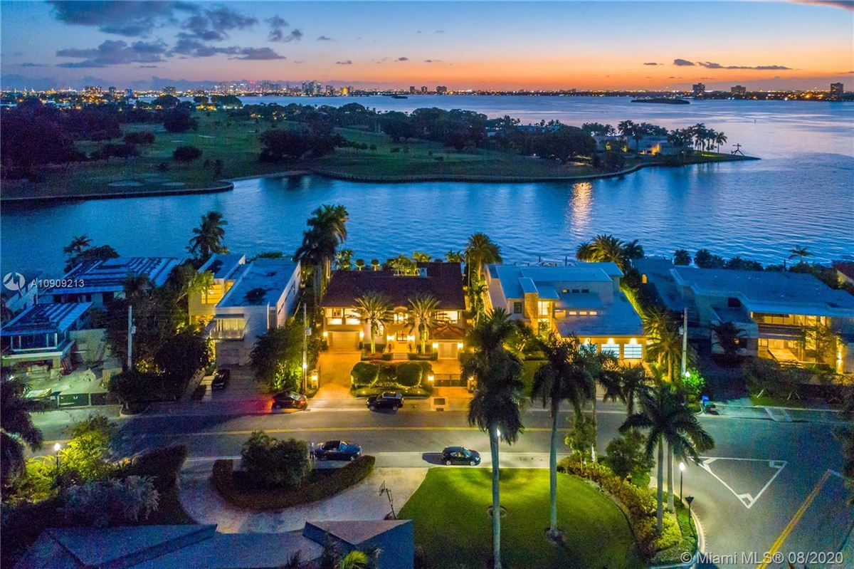 truly special waterfront Mediterranean Estate mansions