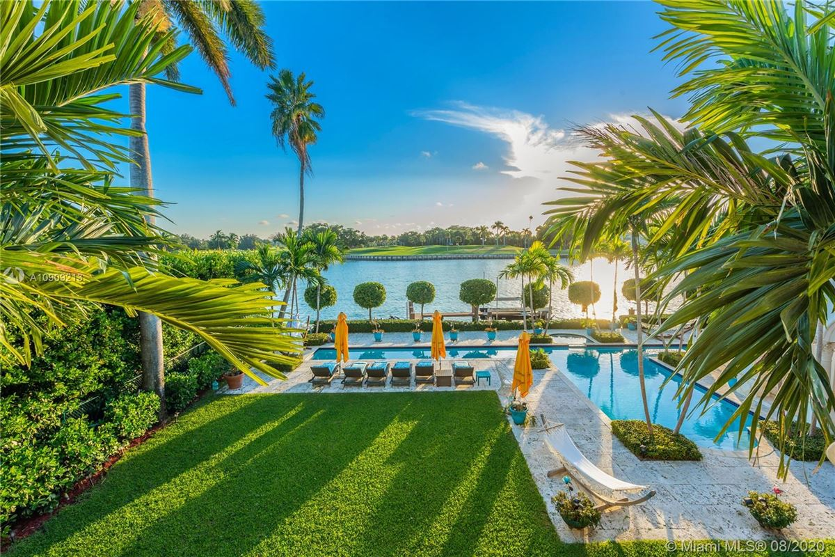 Mansions truly special waterfront Mediterranean Estate