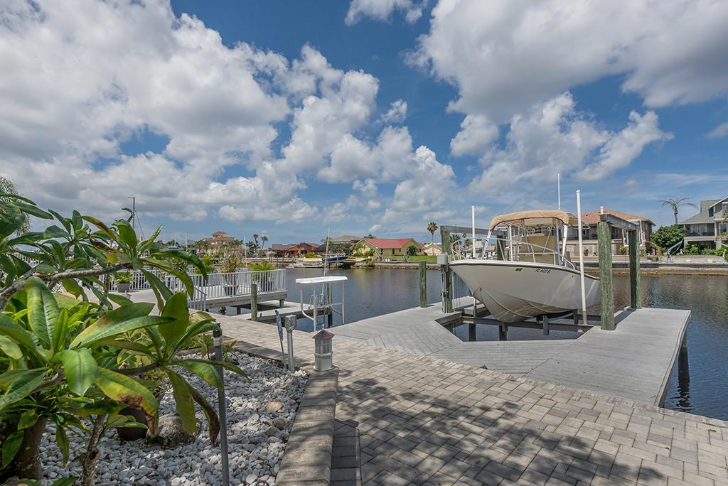 Exquisite Custom Built Home in Gulf Harbors luxury properties