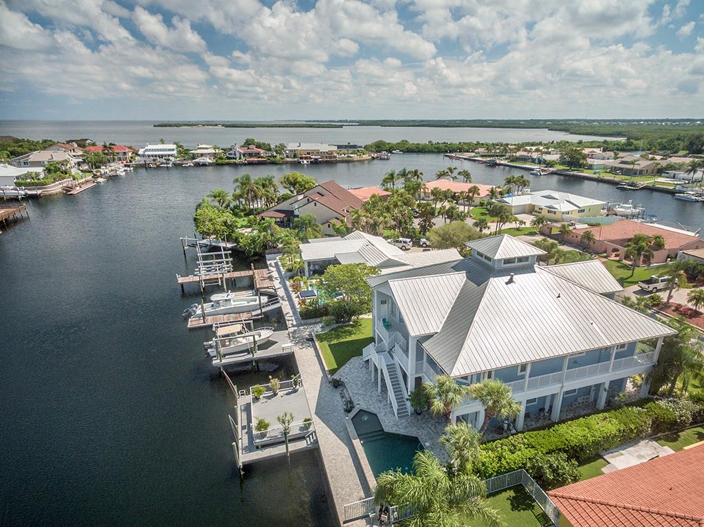 Mansions in Exquisite Custom Built Home in Gulf Harbors