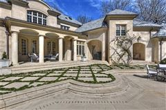 Luxury real estate French Baroque estate on private wooded property
