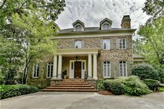 Luxury homes in gracious custom home in myers park