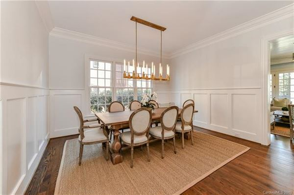 Luxury real estate this exquisite home is in the heart of myers park