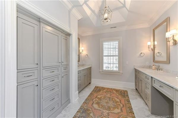 this exquisite home is in the heart of myers park luxury real estate