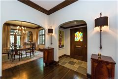 Mansions Renovated Tudor-style home